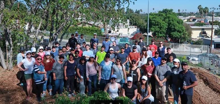 enCORE offsite Team Volunteer Day