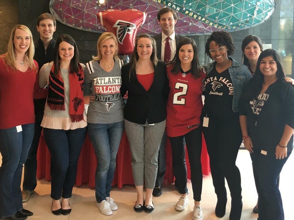 TrueWealth loves the Atlanta Falcons!