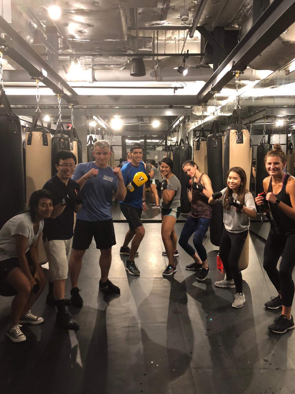 Monthly Wellness Activity - Kickboxing