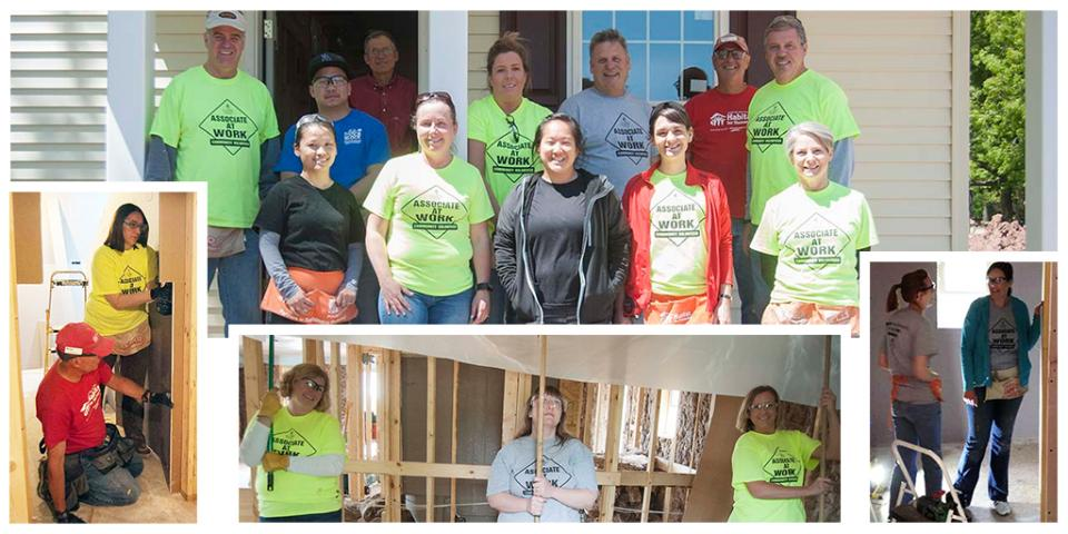 Making a Difference in our Community - Habitat for Humanity Home Build