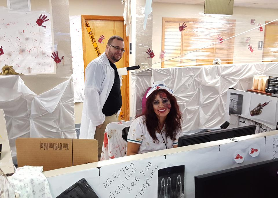 office Halloween Costume contest
