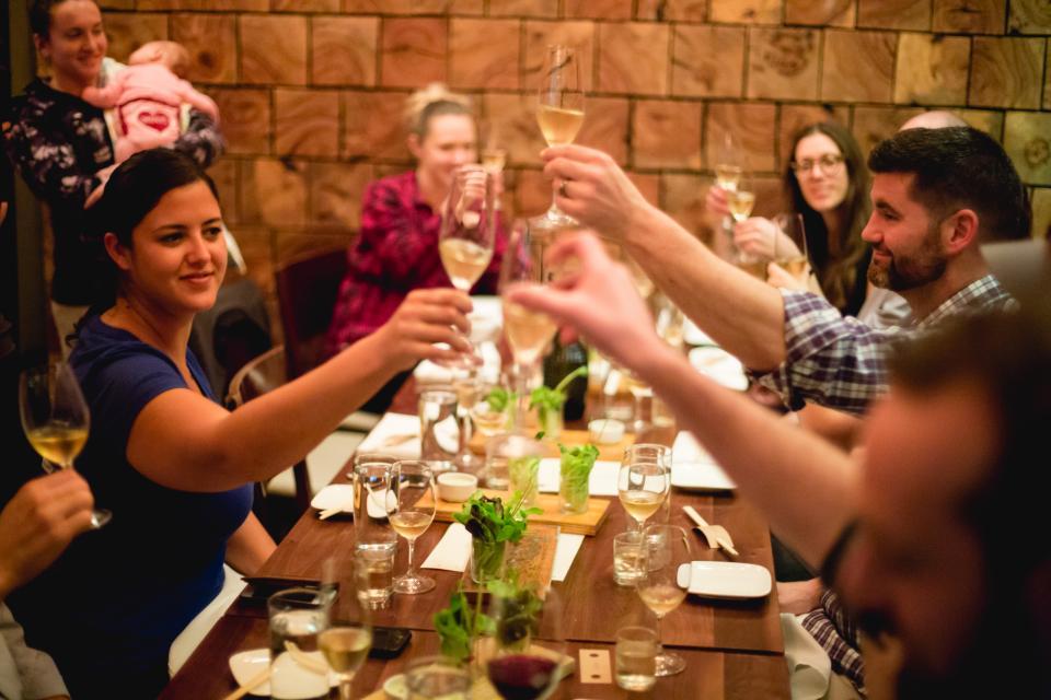 Tribe wine tasting