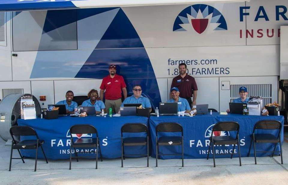 Farmers Claims Catastrophe Response Team in Houston worked hard to assist customers immediately after Hurricane Harvey