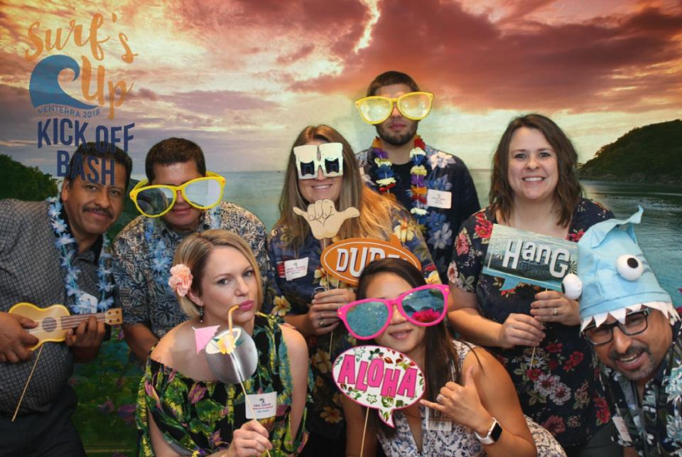 The surf theme at our latest annual award ceremony had us catching a wave into the new year!
