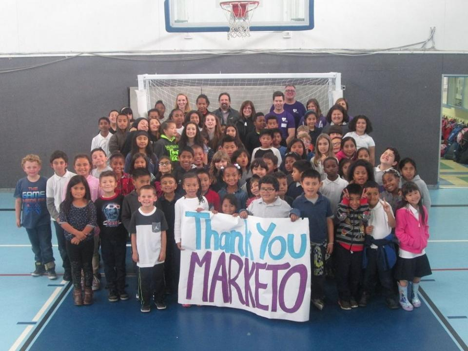 Marketo Gives Back