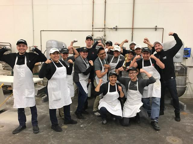 Congrats to our Production Bakery team for winning Spotlight on Service!
