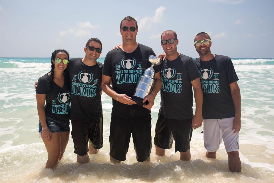 Operations Team at Leadership Conference in Cancun