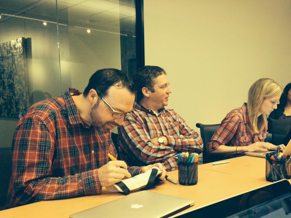 Accidental Plaid day