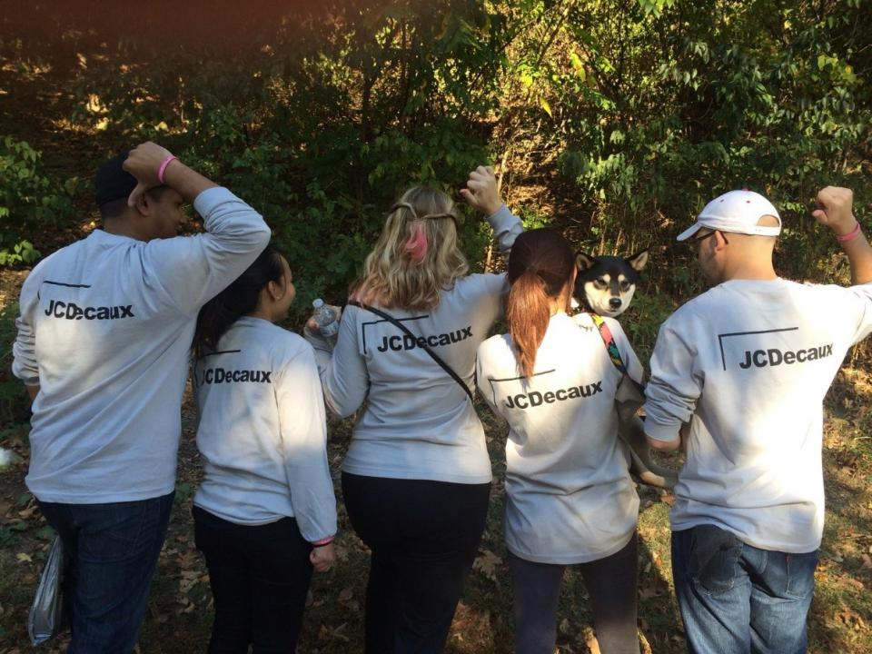 Making Strides JCDecaux Team