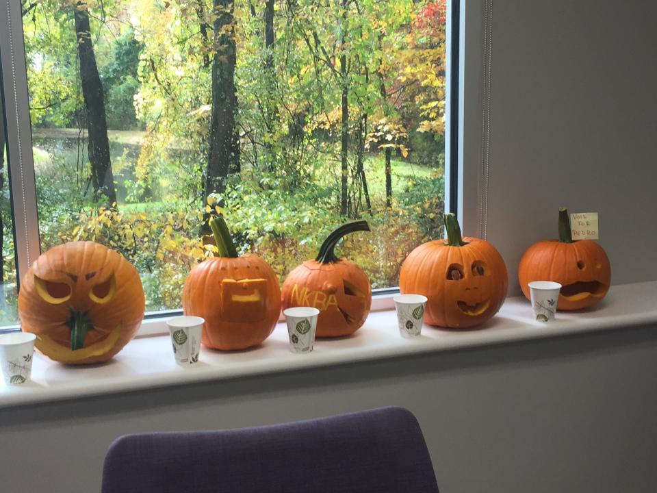 NKBA Pumpkin Carving Event