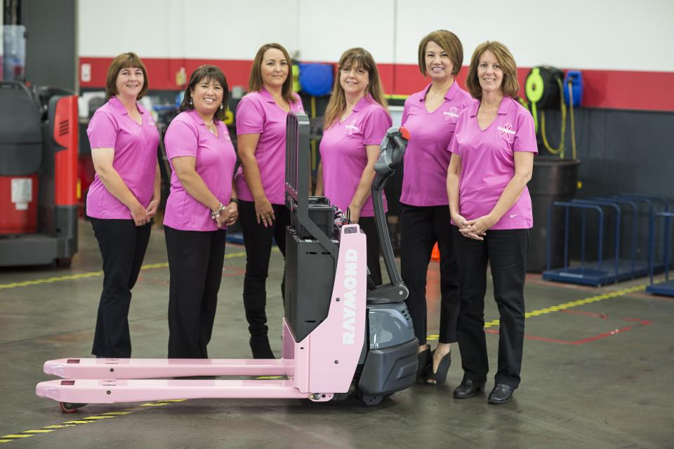 RHCC's Annual Pink Pallet Jack Project Fundraiser