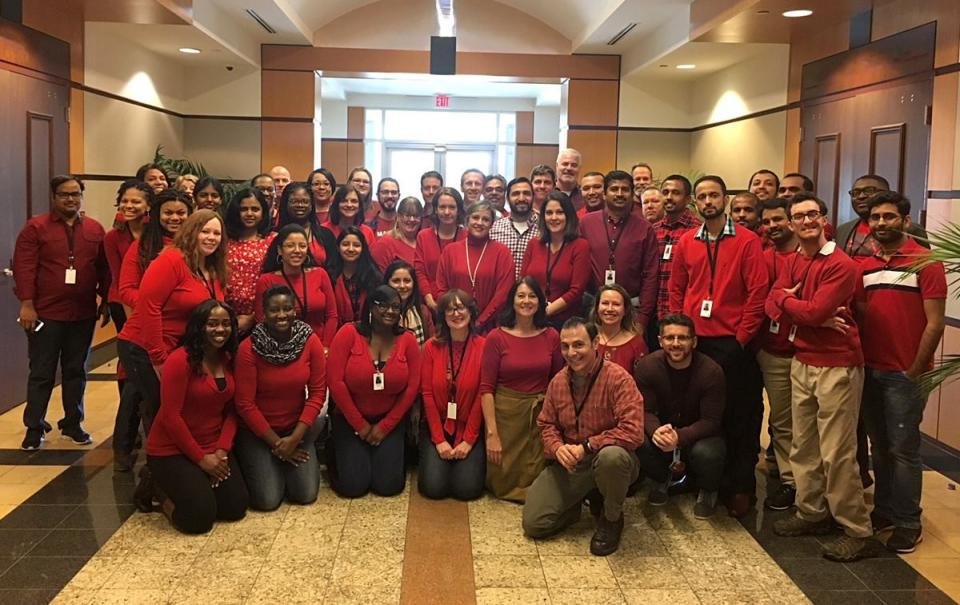 APEX Wears Red Day - Heart Health Awareness