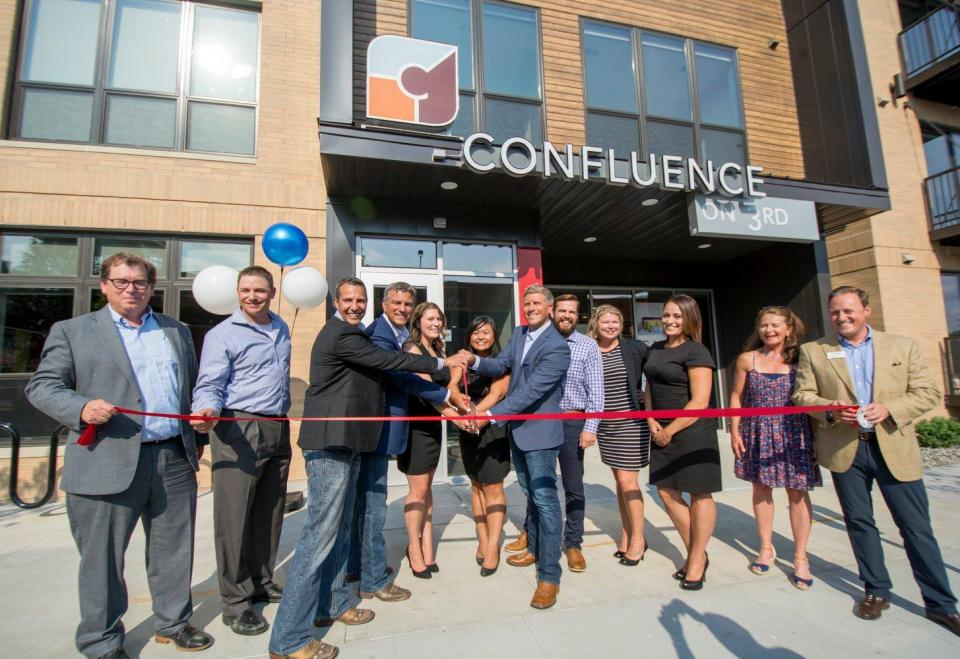 Confluence on 3rd celebrates it's Grand Opening.