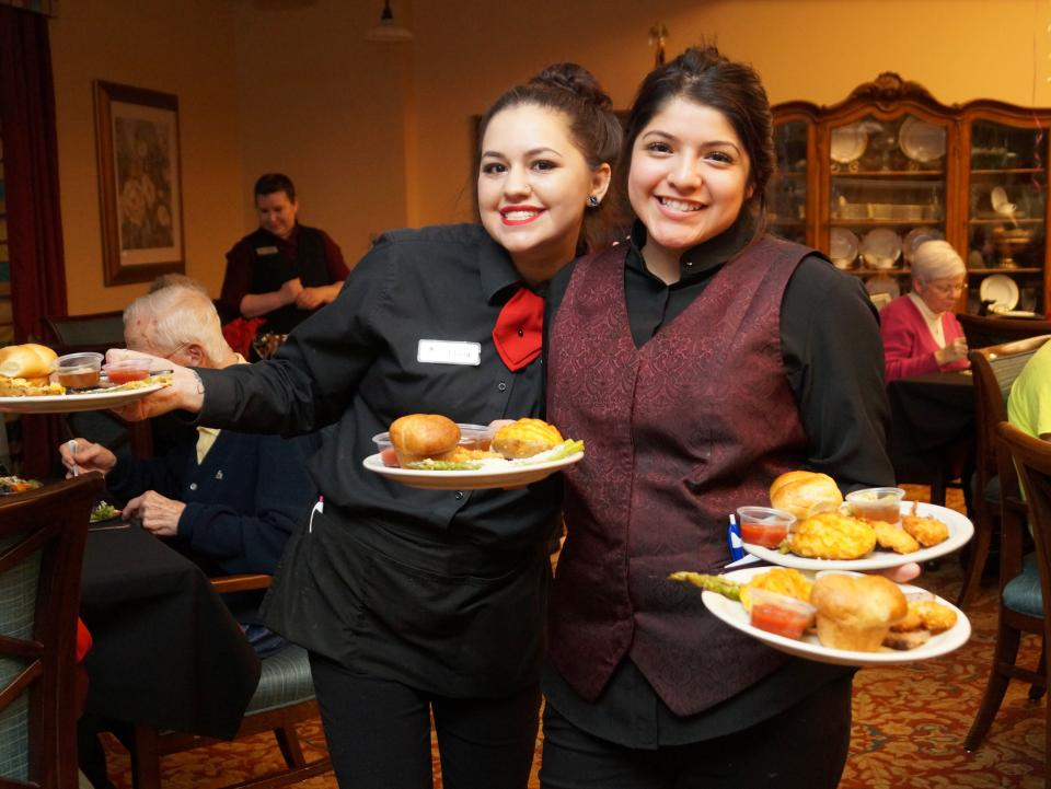 Service with a smile from associates of Senoir Star at Burgundy Place