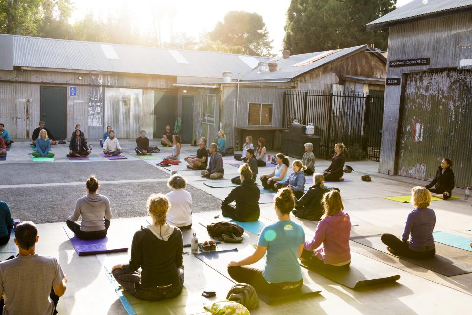 Mindful Meditation at the Tin Shed