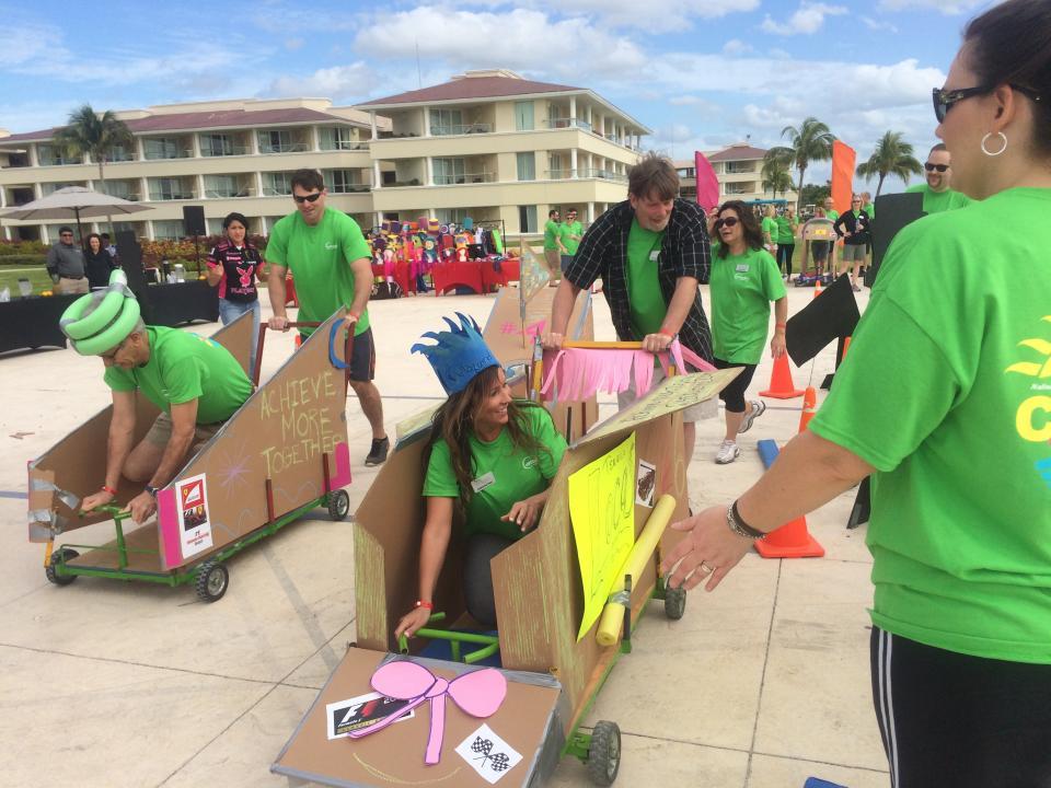 Team Building Activity - Cart Race