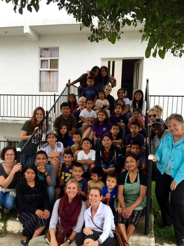 Eagle's Nest orphanage in Guatemala - dreamBIG team #2 with all of the kids!