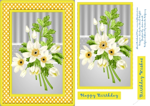 Bunch Of White Flowers Cup84571220612 Craftsuprint