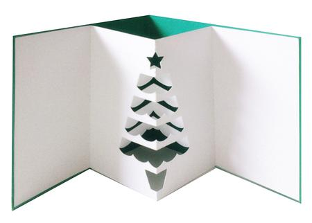 3d Pop Out Christmas Tree Card Files Cup704124 671