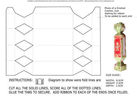 Christmas cracker template cup3505841509 craftsuprint christmas cracker template solutioingenieria Image collections