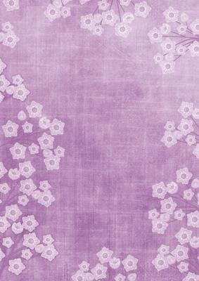 Lilac Mini Floral Border A4 Backing Paper Cup238805 10