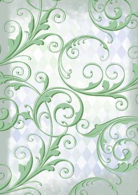 Christmas Fancy Door Swirls Backing Paper - CUP26764_10 | Craftsuprint
