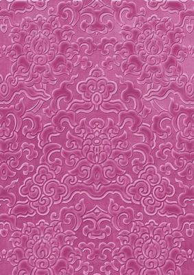 Cerise Embossed Pattern Wallpaper A4 Backing Paper