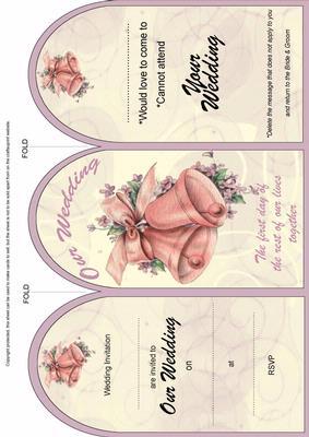 Cerise Magnolia Retirement Fancy 7in Decoupage Topper by Ann-marie Vaux
