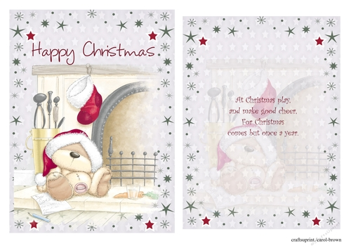 christmas card front insert2  cup886235118  craftsuprint