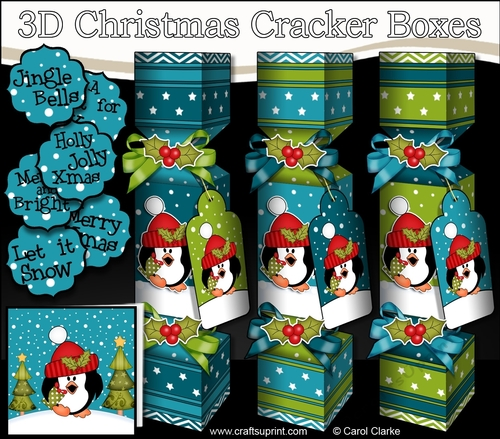 Penguin Christmas Crackers