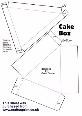 wedding cake box design templates cake box template cup13638 173 craftsuprint 22060
