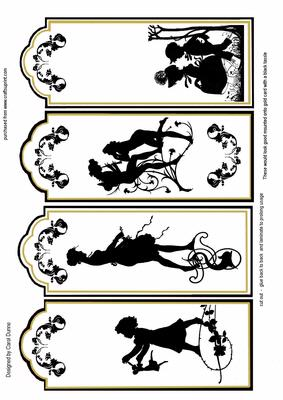 It is an image of Trust Printable Bookmarks Black and White