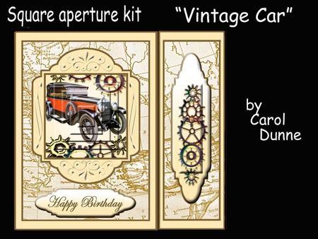 Aperture Kit Vintage Car Cup477181 173 Craftsuprint