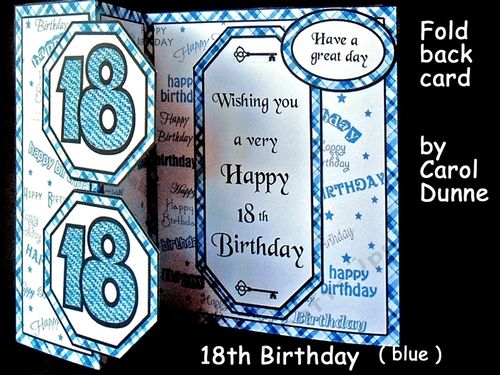 FB 18th Birthday Blue