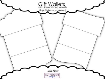 Gift Voucher/money Wallet Templates - Commercial Use ...