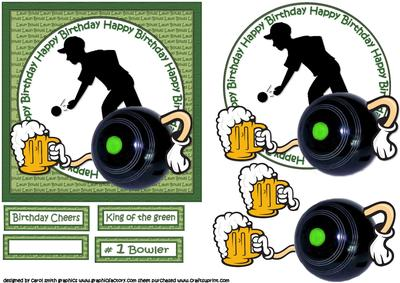 Lawn Bowls and a Pint - CUP596148_1209 | Craftsuprint