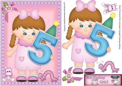 Happy birthday 5 year old girl cup4327861398 craftsuprint bookmarktalkfo Images