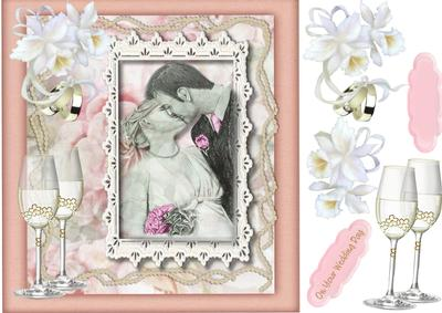 Beautiful Wedding Wishes And White Orchids