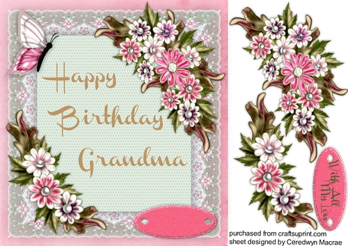 Free Printable Birthday Card For Nana