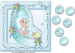 Baby Boy Card Cup713204 452 Craftsuprint