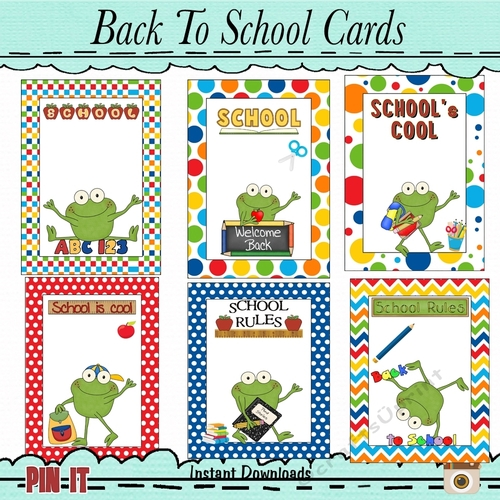 Enjoyable Frog Fun Back To School Cards Cup886874 43589 Craftsuprint Funny Birthday Cards Online Fluifree Goldxyz