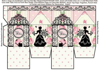 62139161c4e9 Cottage Chic Happy Birthday Milk Carton Gift Box - CUP629054 503 ...