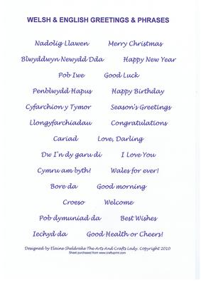 Welsh english greetings phrases blue birthday christmas welsh english greetings phrases blue birthday christmas cup58707604 craftsuprint m4hsunfo