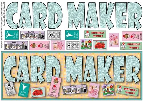 card maker birthday large dl  cup939218750  craftsuprint