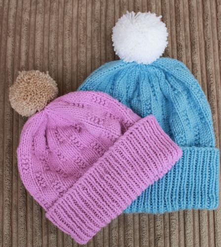 Knitting Pattern - men   ladies hat pattern 44c120425fb