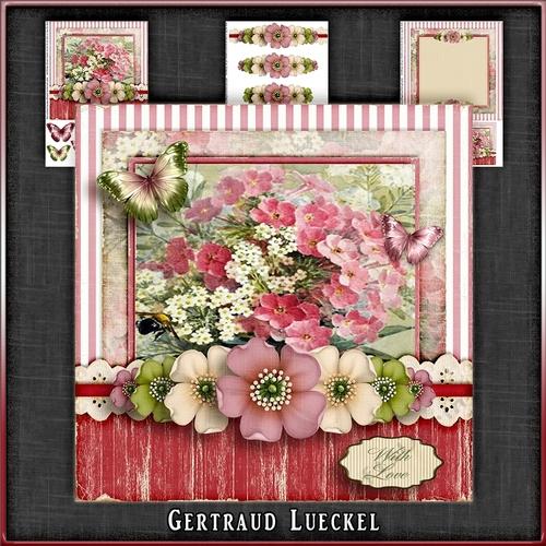 Vintage Flowers Card Kit 1048 - CUP753768_2166