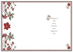 Christmas / Inserts / Card Making Products by Gillian Hutchinson