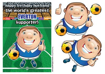 Everton Football Club Happy Birthday Husband CUP283061971 – Everton Birthday Cards