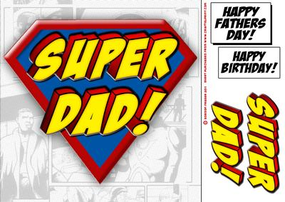superdad logo 8x8 quick card cup242949437 craftsuprint