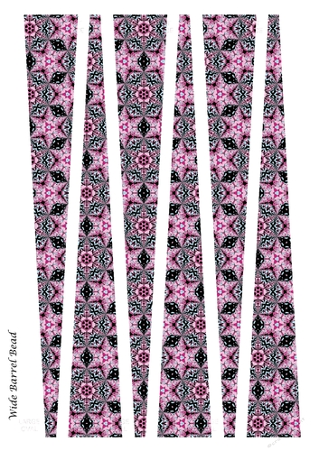 Wide Oval Paper Beads Template Design 69 Cup913119 91416